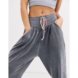 nwt // free people meadowbrook harem jogger pants